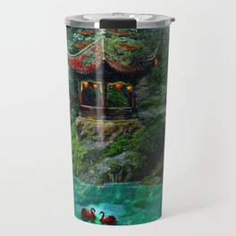 Tale of the Red Swans Travel Mug
