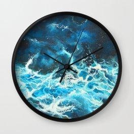 Blue Symphony Wall Clock