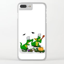 Dragons - Happy Halloween ! Today I will cook Clear iPhone Case