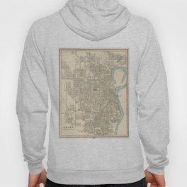 Vintage Map of Omaha Nebraska (1901) Hoody