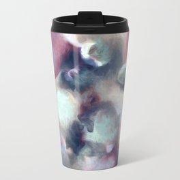 Organic Abstract 2 Metal Travel Mug