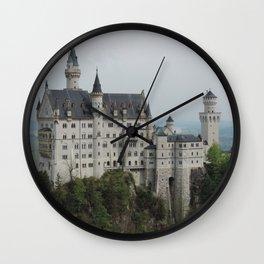 Neuschwanstein Castle (Schwangau, Germany) Wall Clock