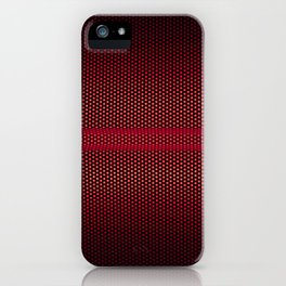 RED MESH iPhone Case