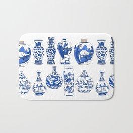 Blue Vases Bath Mat