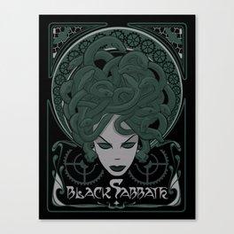 Steampunk Medusa Canvas Print