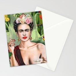 Frida con Amigos Stationery Cards