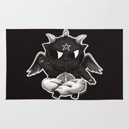 Black Cathomet Rug