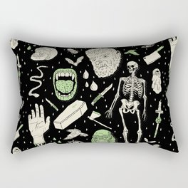 Whole Lotta Horror: BLK ed. Rectangular Pillow