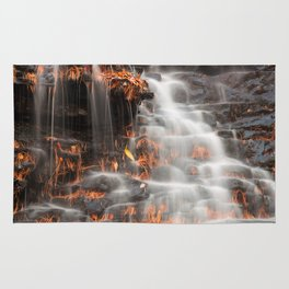 Shades of Death Waterfall Rug