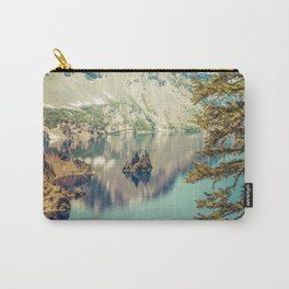 Crater Lake Oregon Phantom Ship Island Carry-All Pouch