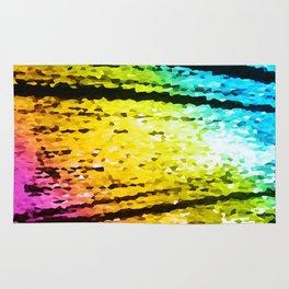 rainBoW Crystal Texture Rug