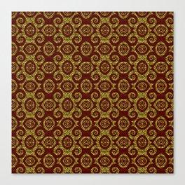Luxurious Spirales Canvas Print