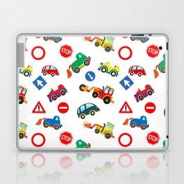 Kid cars, car and machine, tractor Laptop & iPad Skin