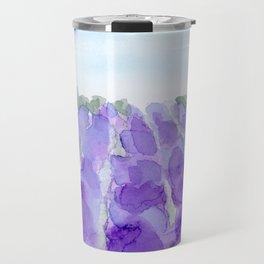 lavender farm Travel Mug