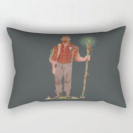 Forest Gentleman Rectangular Pillow