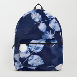 Flora Cyanotype Backpack
