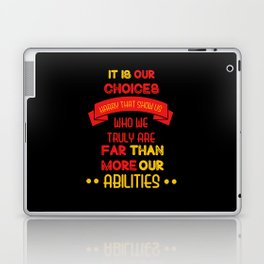 Harry Potter Quote Laptop & iPad Skin