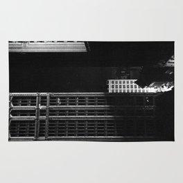 architecture immeuble noir blanc 4 Rug
