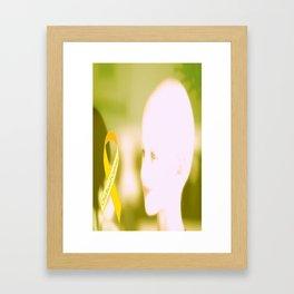 Golden Child Framed Art Print