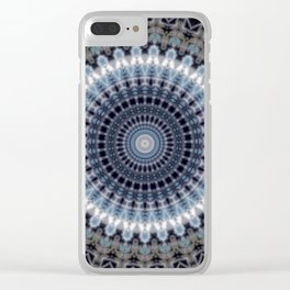 Some Other Mandala 747 Clear iPhone Case
