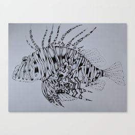 King of the Sea Canvas Print