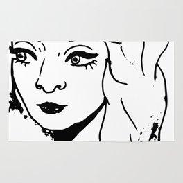 Eye Liner Girl - Tori Rug