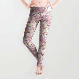 just goats cherry pearl Leggings
