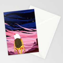 COSMONAUT cover  Stationery Cards