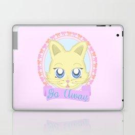 Cute Meanie cat Laptop & iPad Skin