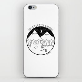 Mountain Vibes iPhone Skin