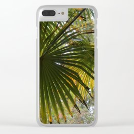 Leaves at Heligan Clear iPhone Case