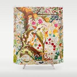 Fantasy Jacobean Forest Shower Curtain