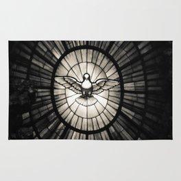 The Holy Spirit as a dove Rug