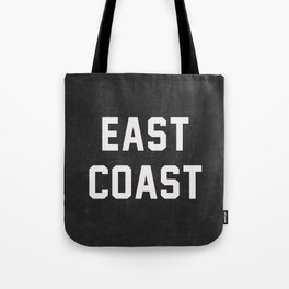East Coast - black Tote Bag