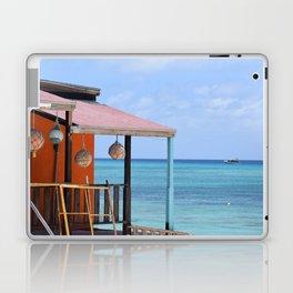 Grand Turk Bungalow Laptop & iPad Skin