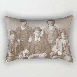 Butch Cassidy - Sundance Kid - Wild Bunch Rectangular Pillow