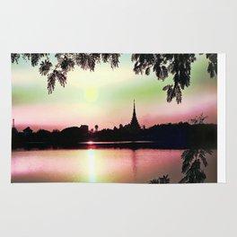 Pastel Sunset. Rug