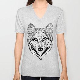 Sonya The Wolf Unisex V-Neck
