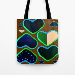 Heart of greenery Tote Bag