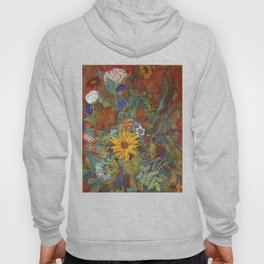 flower 2【Japanese painting】 Hoody