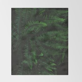 Fern Life Throw Blanket