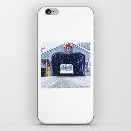 Vermont Covered Bridge Sugabush iPhone Skin