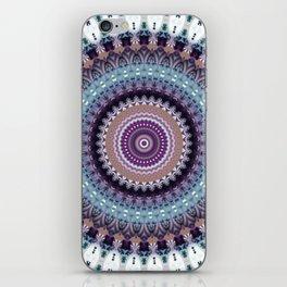 Mandala for Winter Mood iPhone Skin