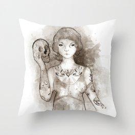 Mi propia alma Throw Pillow