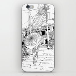 Kyoto - the old city iPhone Skin