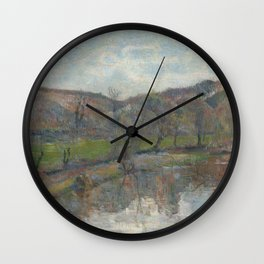 Paul Gauguin - Brittany Landscape Wall Clock