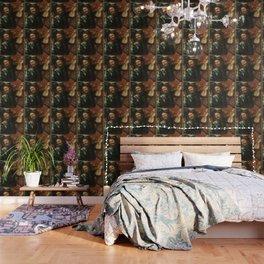 renaissance art, man with the violin Wallpaper
