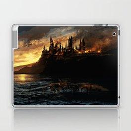 Harry Potter - Hogwart's Burning Laptop & iPad Skin