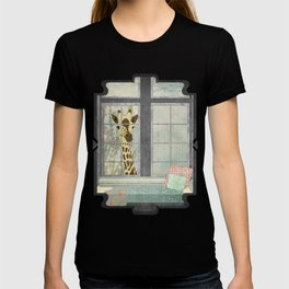 Bay Window Giraffe T-shirt