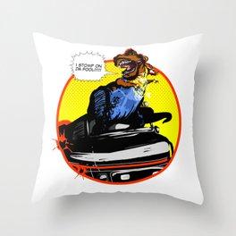 Mr. T(Rex) Throw Pillow